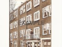 104-Reproductie-Kromme-Mijdrechtstraat-40-42 Amsterdam